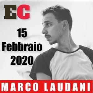 Esplorazioni Contemporanee - MARCO LAUDANI - Stage 15 febbraio 2020
