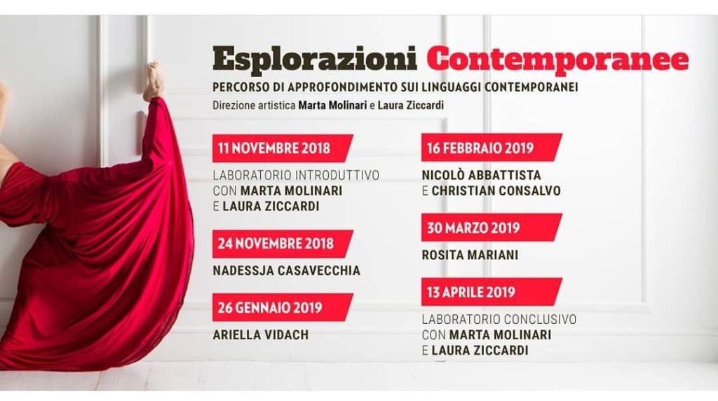 I Edizione Esploarazioni contemporanee - Stagione 2018-2019