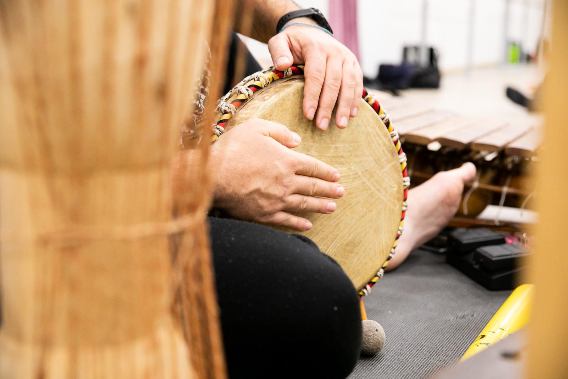 Stage percussioni PERCmob per EC musica