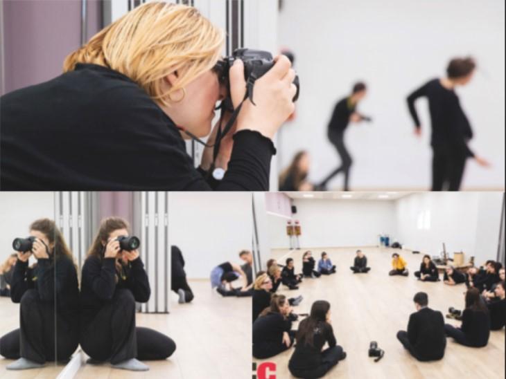 Shooting fotografico danza