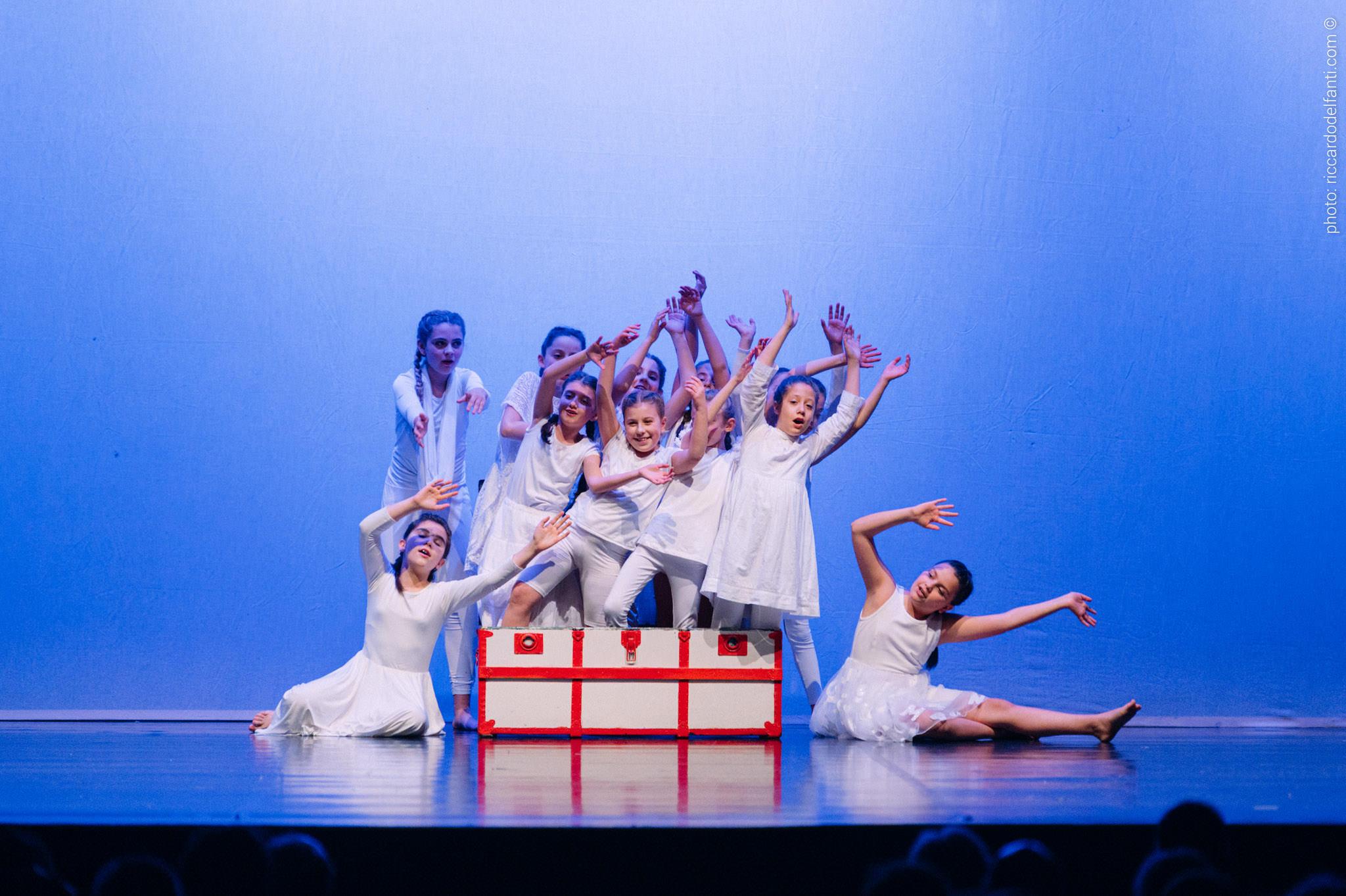 Danza e musica bimbi - Percorso ludico didattico EC Junior - Performance Novi Ligure 2019