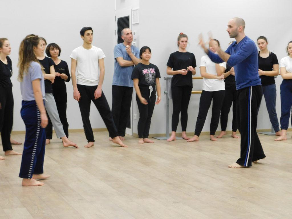 Stage Danza contemporanea Manfredi Perego 01