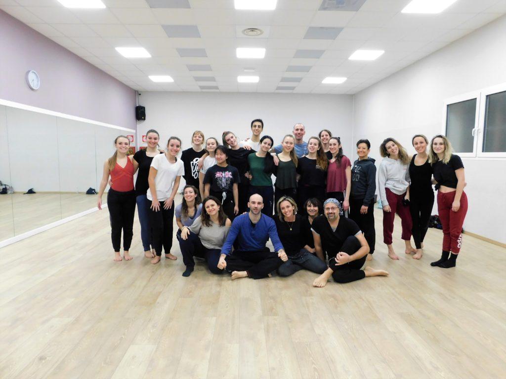 Stage Danza contemporanea Manfredi Perego