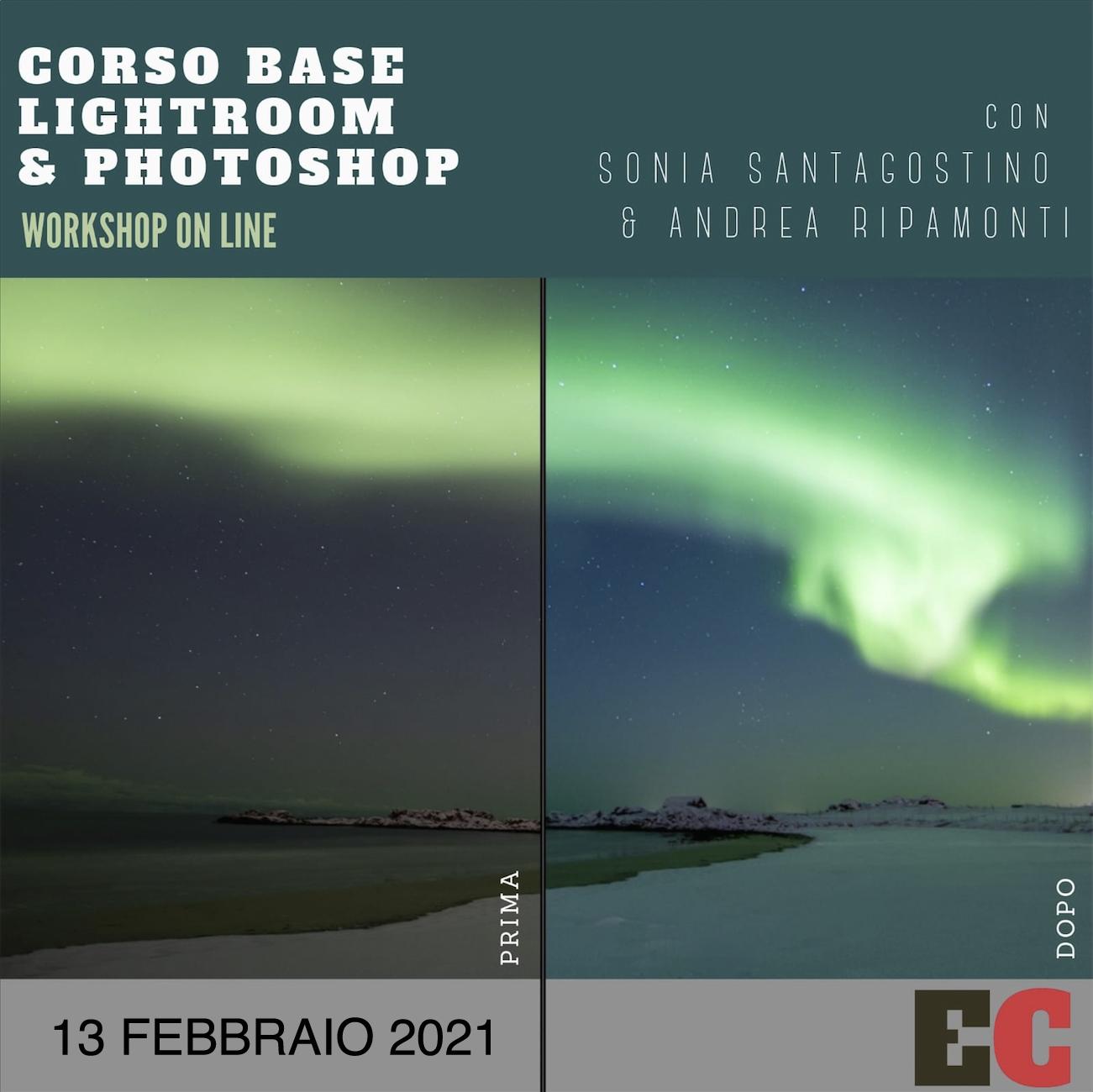 Corso base Photoshop e Lightroom